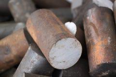 металл заготовки круглый Стоковые Фотографии RF