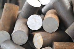 металл заготовки круглый Стоковая Фотография RF
