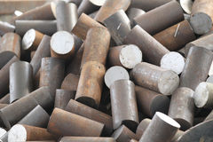 металл заготовки круглый Стоковое Изображение RF