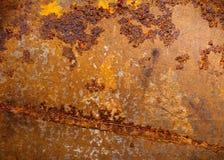 металл заржавел Стоковая Фотография