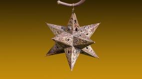 металлическая звезда Стоковое фото RF