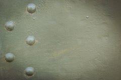 Металлическая зеленая воинская предпосылка Стоковые Изображения RF