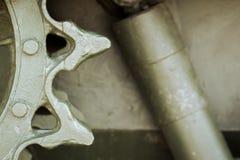 Металлическая зеленая воинская предпосылка Стоковая Фотография RF