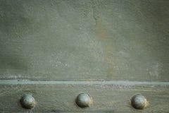 Металлическая зеленая воинская предпосылка Стоковое фото RF