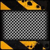 Металлическая пластина с предпосылкой grunge Стоковое Изображение RF