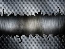 Металлическая пластина иллюстрация вектора