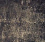 Металлическая пластина Grunge старая черная как текстура предпосылки. Квадратный формат. стоковое фото