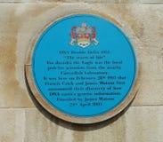 Металлическая пластинка Кембридж дна Стоковое Фото