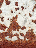 Металлическая текстура утюга Стоковая Фотография