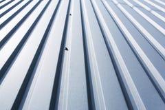 Металлический лист крыши Стоковое фото RF