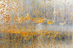 Металлический лист ржавый Стоковые Изображения RF