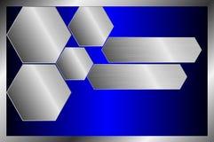 Металлический поверхностный шаблон, текстура предпосылки Стоковое Изображение RF