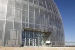 Металлическое здание под конструкцией Стоковая Фотография RF