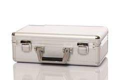 Металлический чемодан Стоковое фото RF