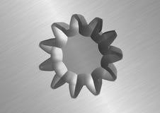 Металлическое колесо Стоковые Изображения