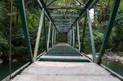 металл моста старый Стоковые Изображения RF
