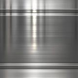 Металлопластинчатая предпосылка стоковая фотография rf