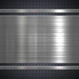 Металлопластинчатая предпосылка Стоковое Изображение RF