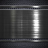Металлопластинчатая предпосылка Стоковая Фотография