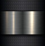 Металлопластинчатая предпосылка Стоковое Изображение