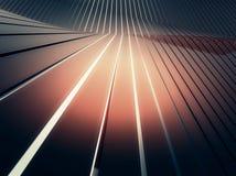 металлопластинчатое глянцеватое Стоковая Фотография RF