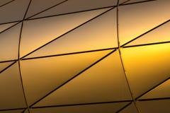 металлопластинчатое предпосылки золотистое Стоковые Изображения RF
