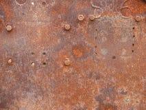 металлопластинчатое ржавое стоковая фотография