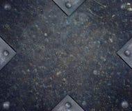 Металлопластинчато с заклепками Стоковое Фото