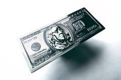 Металл 100 долларов Стоковые Фото