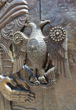 металл ручки двери старый Стоковые Изображения RF