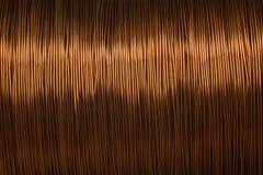 Металл текстуры катышкы медной проволоки Стоковое Фото
