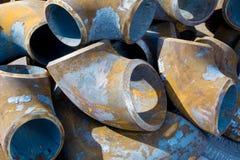 Металл трубы дренажа Стоковая Фотография