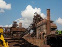 металлургическое предприятие Стоковое Изображение
