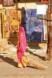 метельщик jaisalmer Стоковое Изображение RF