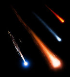 Собрание метеоритов Стоковое Изображение