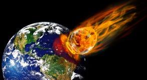 метеорит Стоковые Фото