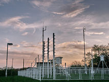 метеорологическая станция Стоковая Фотография