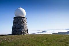 Метеорологический радиолокатор Стоковая Фотография