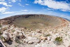 метеор кратера Аризоны Стоковое Изображение RF