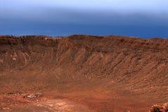 метеор кратера Стоковые Изображения RF