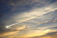 Метеор летания Стоковое Изображение