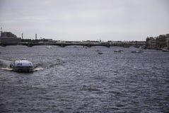 Метеор судна на подводных крыльях быстроходного катера Стоковая Фотография RF