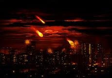 метеор стоковая фотография
