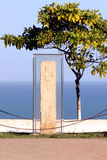 Метка Бразилия открытия Стоковая Фотография