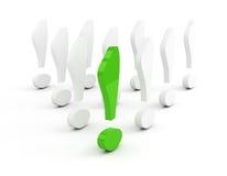 метка водительства зеленого цвета возгласа принципиальной схемы иллюстрация штока