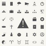 метка иконы возгласа 3d представляет Детальный комплект minimalistic значков Наградной качественный знак графического дизайна Оди иллюстрация штока