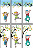 Метка книги вектора для детей бесплатная иллюстрация