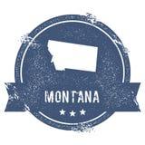 Метка Монтаны бесплатная иллюстрация