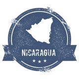 Метка Никарагуа бесплатная иллюстрация