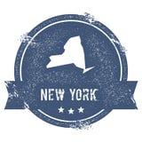 Метка Нью-Йорка иллюстрация вектора